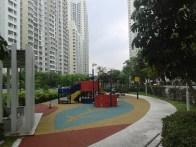 Children's playground. Детская площадка.