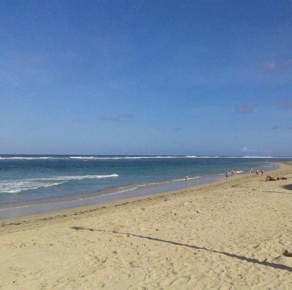 первый балийский пляж