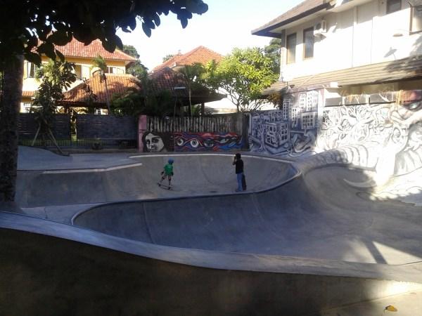скейт-парк нашего отеля
